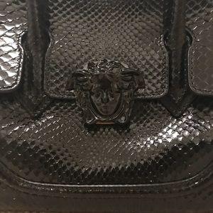 Black Poshmark Empire Bag Palazzo Bags Versace Python pvZxwnUXq7